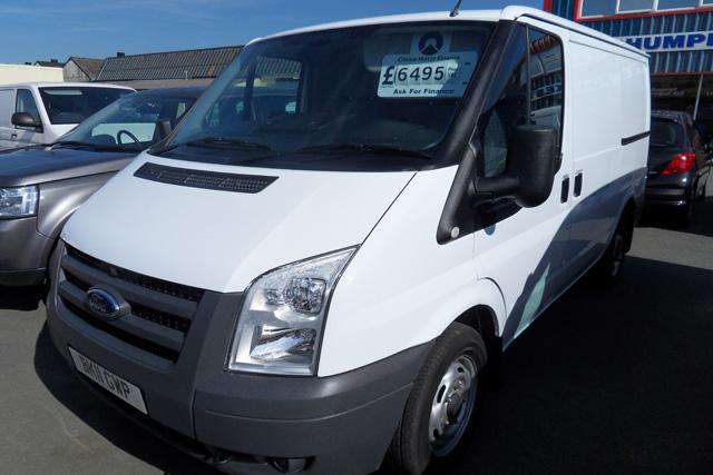Ford Transit 260 2.2 TD 85ps Van White 2011 11 reg