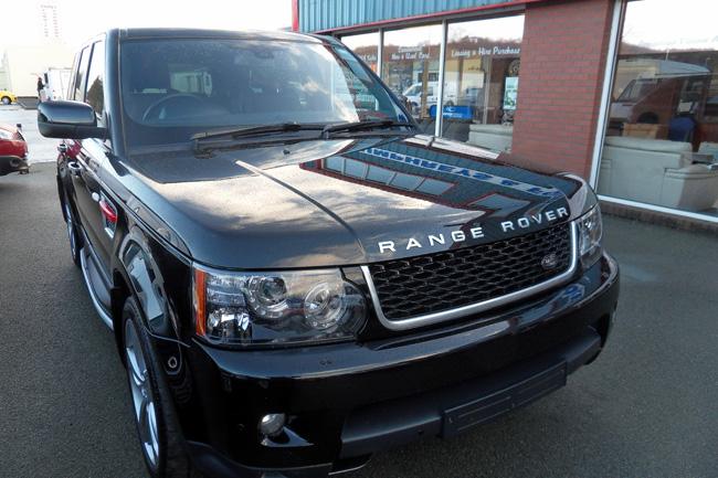 Range Rover Sport Red Edition 3.0 V6 Black 2012 62 reg