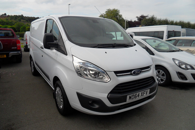 Ford Transit Custom 290 Trend 125PS White 2015 64 reg