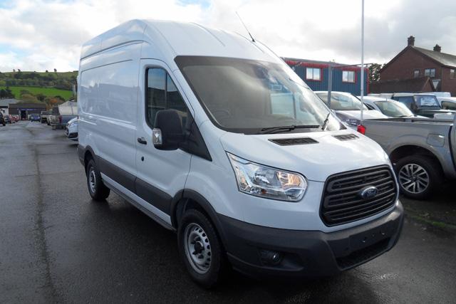 Ford Transit 350 L2 H3 125ps Van White 2016 66 reg