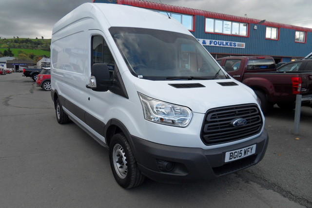 Ford Transit 350 L3 H3 125PS Van RWD White 2015 15 reg