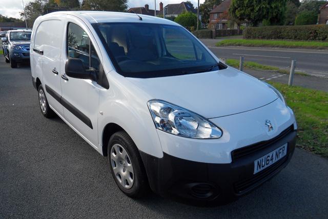 Peugeot Partner 1.6 HDI Crew Van White 2014 64 reg