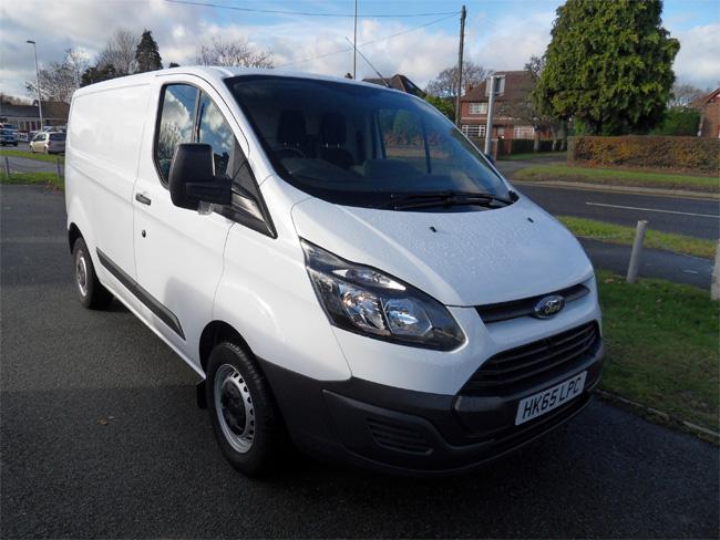 Ford Transit Custom 290 Eco Tech L1 H1 100PS Van White 2015 65 reg