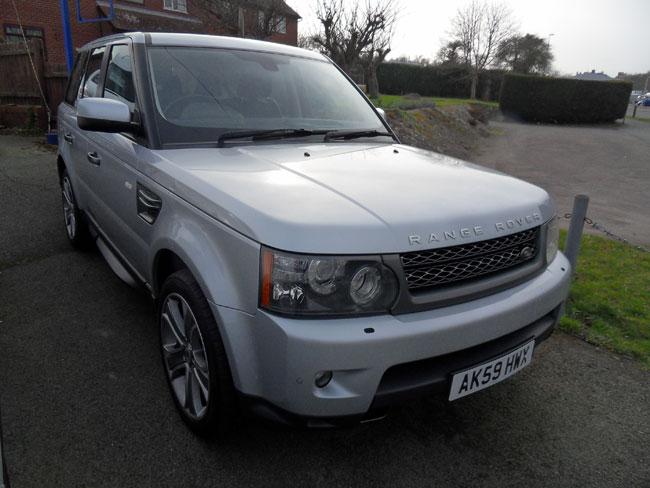 Range Rover Sport 3.0TD HSE 5 Door Silver 2009 59 reg