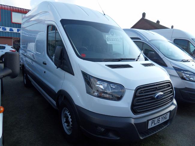 Ford Transit L3 H3 Van White 2016 16 reg