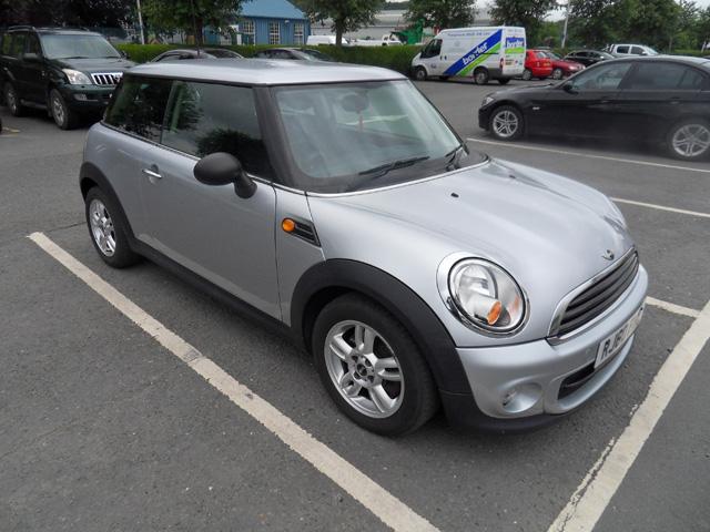 Mini One 1.6 Diesel 3 Door Silver 2010 60 reg