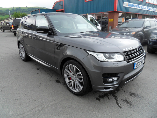 Range Rover Sport Autobiography 3.0 SDV6 Grey 2016 16 reg HSE model also available.