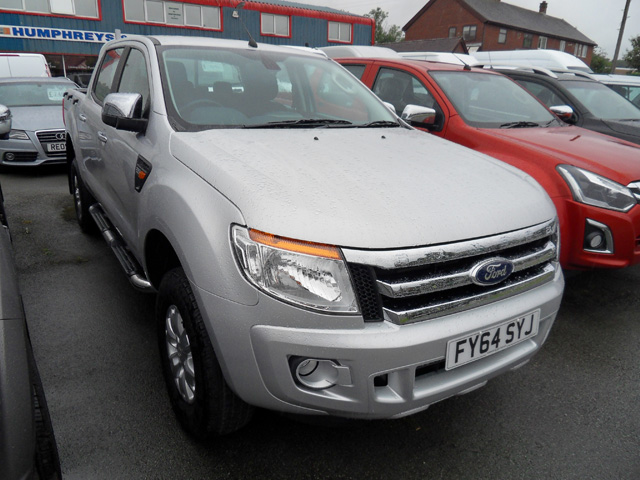 Ford Ranger 2.2 TD XLT Double cab Pickup Silver 2014 64 reg only