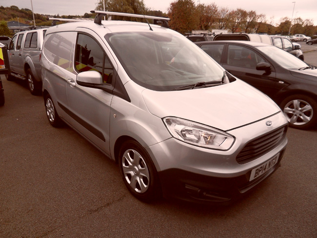 Ford Transit Courier 1.5 TDCI Van Silver 2014 14 reg