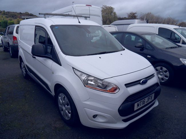 Ford Transit Connect 200 Trend 75PS Van White 2016 16 reg