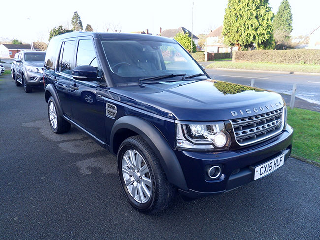 Land Rover Discovery 3.0 SDV6 XS Automatic, Commercial, Blue 2015 15 reg