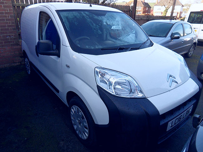 Citroen Nemo 590 Enterprise 1.3 TDI Van White 2016 16 reg