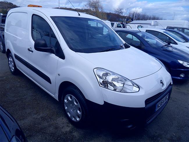 Peugeot Partner L1, 850S, 16 HDI 92 Van, White, 2014, 64 reg