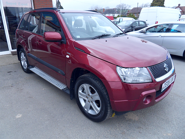 Suzuki Grand Vitara 19 DDIS, 5 Door, Red, 2006, 06 reg