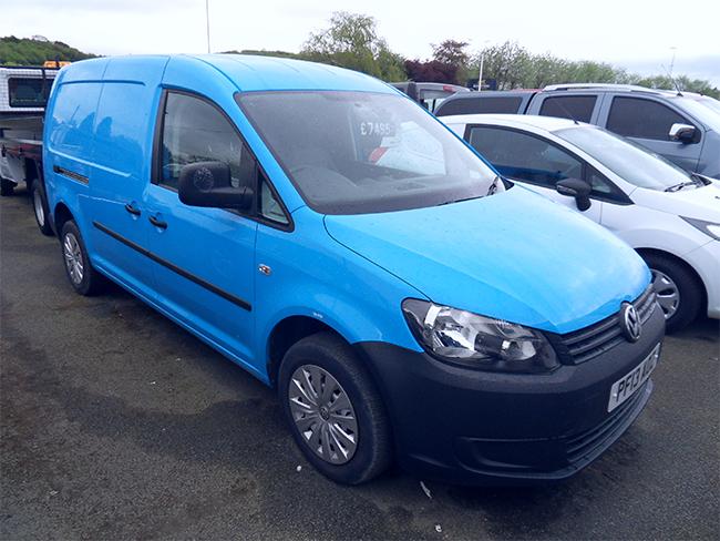 Volkswagen Caddy Maxi C20, TDI VAN, Blue, 2013, 13 reg