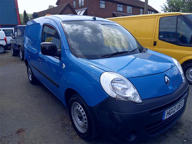 Renault Kangoo ML20 DCI Van,Blue, 2012, 12 reg