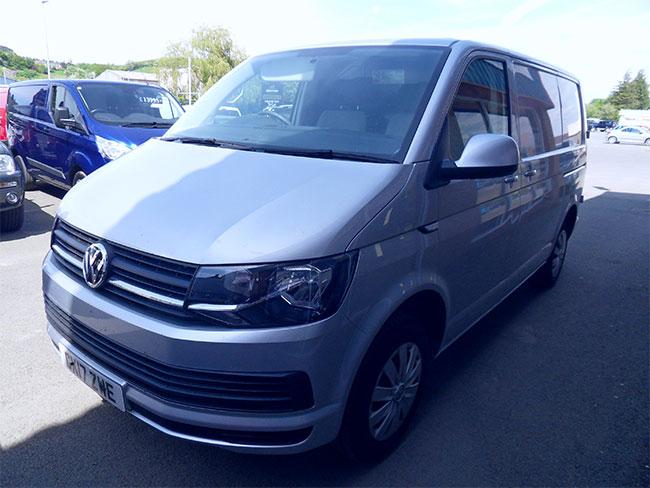 Volkswagen Transporter T28 SWB Van, 102PS, Silver, 2017, 17 reg