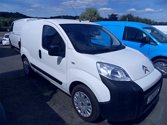 Citroen Nemo 590 Enterprise 13 TDI Van, White, 2016, 16 reg