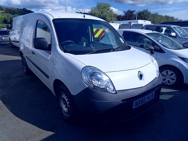 Renault Kangoo ML19 DCI Van, White, 2010, 60 reg