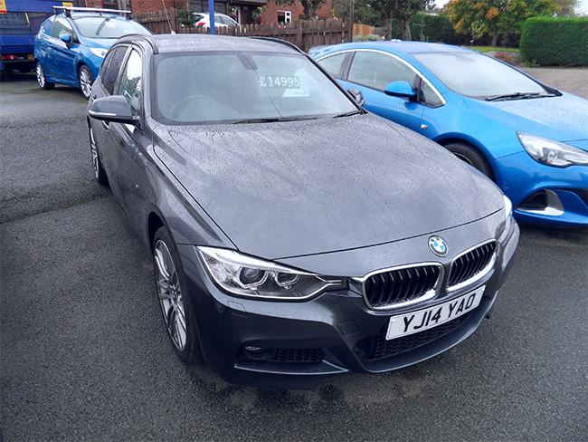 BMW 320D X Drive M Sport, Manual 5 Door, Grey, 2014, 14 reg