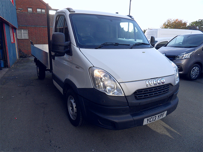 Iveco Daily 35 S 11, Automatic, LWB Tipper, White, 2013, 13 reg
