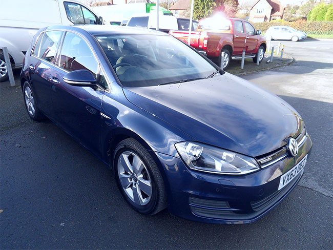 Volkswagen Golf 1.6 TDI Blue Motion 5 Door, Blue, 2013, 63 reg