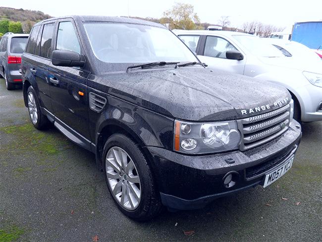 Range Rover Sport 2.7 TD HSE, 5 Door, Black, 2007, 57 reg