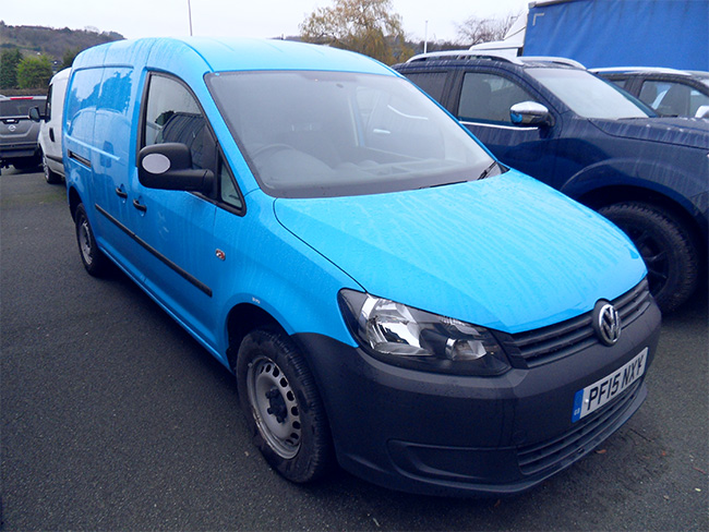 Volkswagen Caddy Maxi 1.6 TDI 102 PS Van, Blue, 2015, 15 reg, 29550 miles
