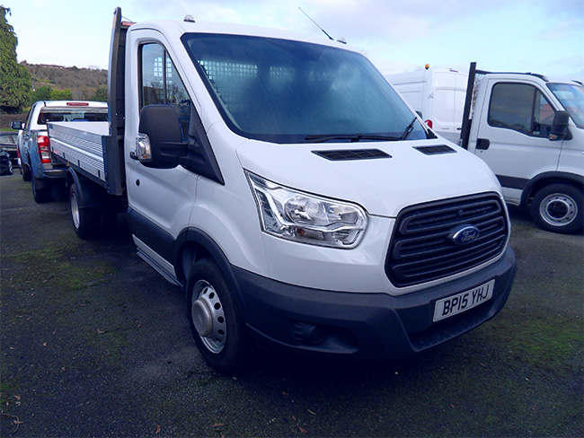 Ford Transit 350 L2 Tipper, White, 2015, 15 reg