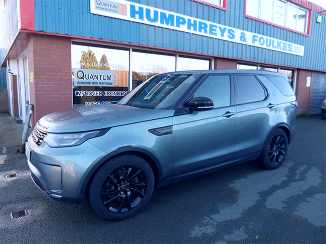 Land Rover Discovery 3.0 HSE, 5 Door, Grey, 2017, 17 reg