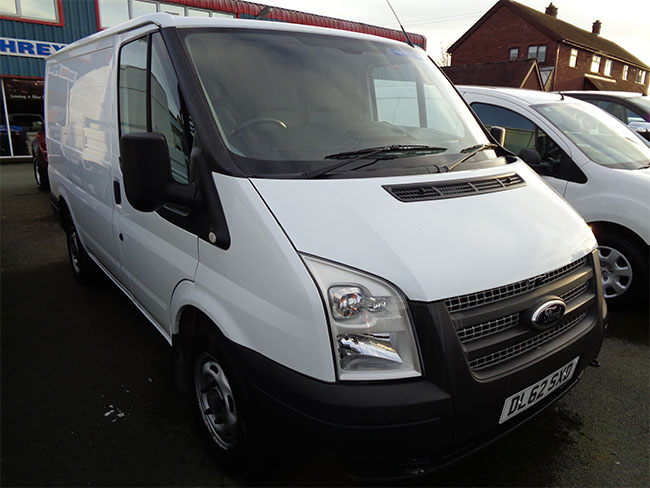 Ford Transit 300 SWB, 100PS, Van, White, 2013, 62 reg