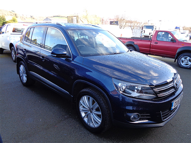 Volkswagen Tiguan 2.0 TDI Match edition 5 Door, Blue, 2016, 16 reg