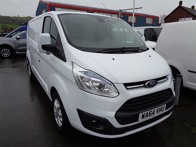 Ford Transit Custom Limited L2, H1, Van, White, 2014, 64 reg