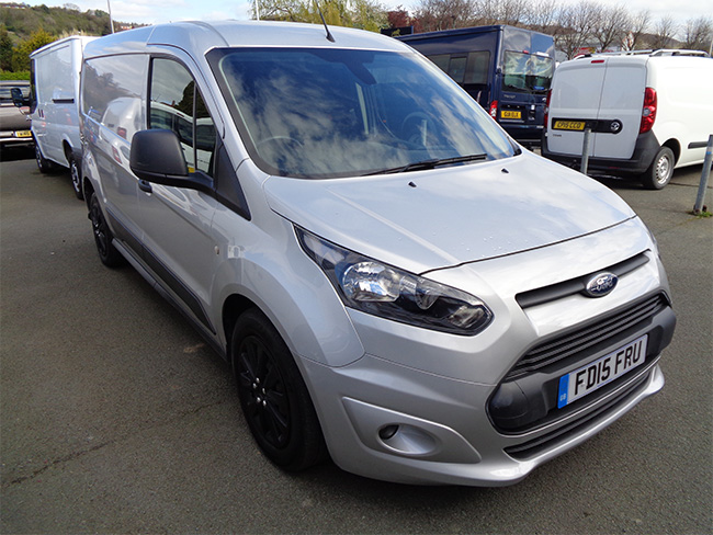 Ford Transit Connect 240, L2,Trend, 95PS Van, Silver, 2015, 15 reg