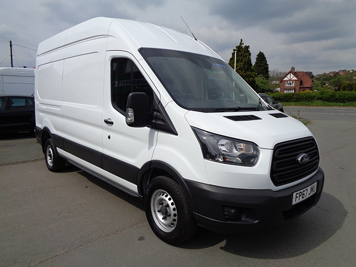 Ford Transit 350 L3, H3,130PS, Van, White, 2017, 67 reg