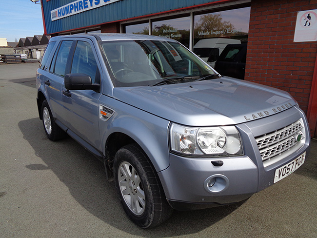 Land Rover Freelander TD4 XS, Automatic, 5 Door, Blue, 2007, 57 reg