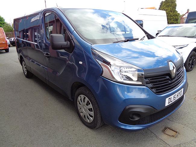 Renault Trafic 1.6 DCI Buisness Plus L2, H1 Van, Blue, Towbar fitted, 2015, 15 reg