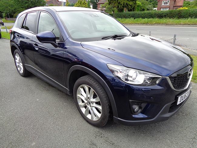 Mazda CX5, Diesel, AWD, Automatic, Blue, 2013, 63 reg