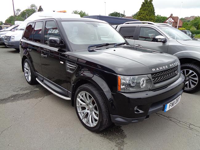 Range Rover Sport 3.0 HSE, Black, 2011, 11 reg