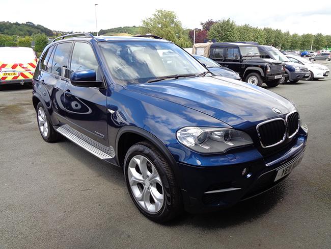 BMW X5, X Drive, 3.0TD, SE Automatic,5 Door, Blue, 2011, 11 reg