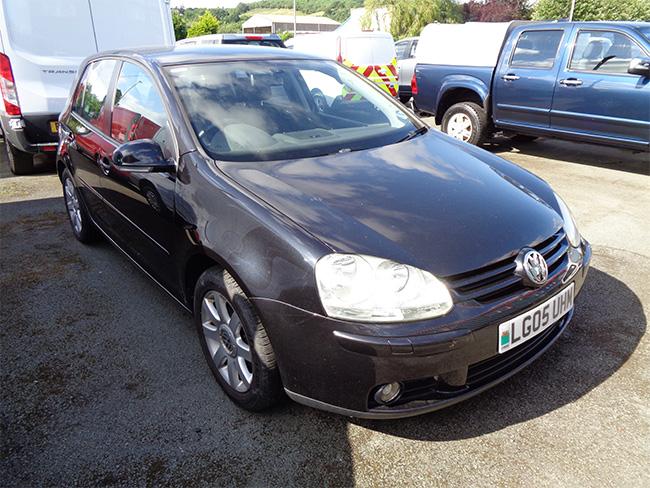 Volkswagen Golf 2.0 FSI GT 5 Door, Black, 2005, 05 reg