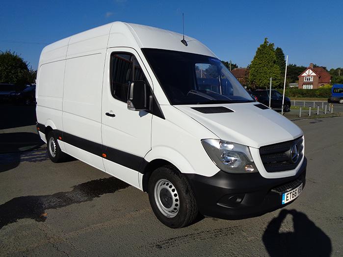 Mercedes Sprinter 2.1 CDI 314 MWB Van, White, 2017, 66 reg