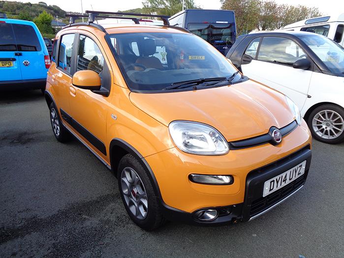 Fiat Panda 4x4, 1.0 Twin Air,  Yellow, 2014, 14 reg