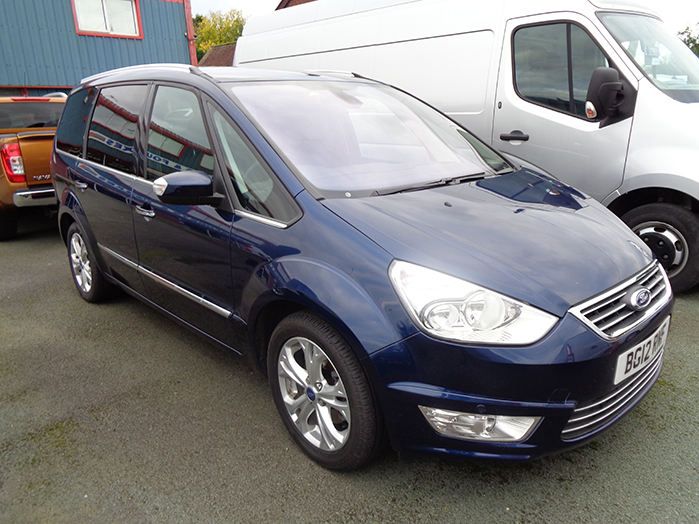 Ford Galaxy 2.2 TDCI, 200PS, Auto, Titanium, Blue, 2012, 12 reg
