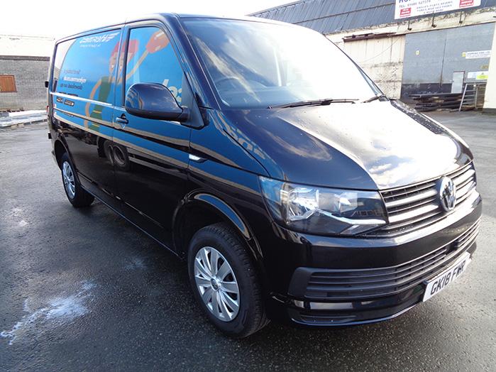 Volkswagen Transporter T28, SWB, 2.0 Trendline Van,  Black, 2018, 18 reg