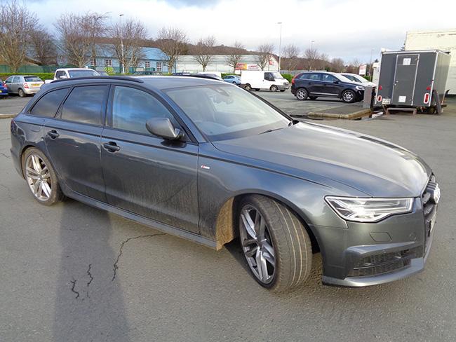 Audi A6 Avant 2.0 TDI Ultra Black Edition, Grey, 2016, 66 reg