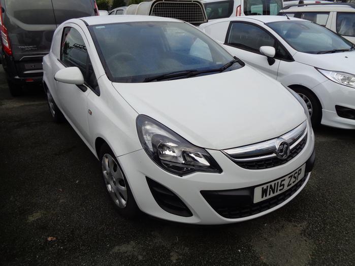 Vauxhall Corsa 1.3 CDTI, 95PS Van, White, 2015, 15 reg,
