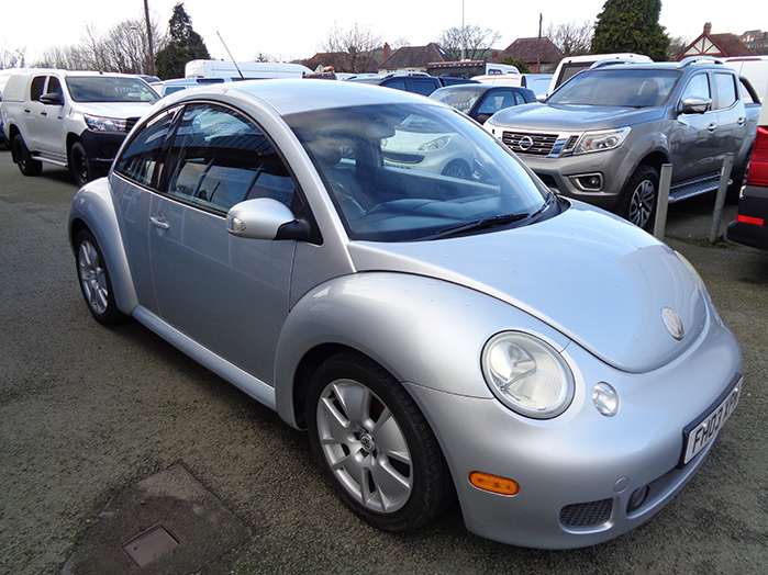 Volkswagen Beetle V5, 170 BHP, Silver, 2003, 03 reg