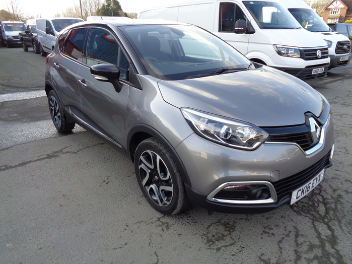 Renault Captur 1.5 DCI Dynamique Nav, Grey, 2016, 16 reg,