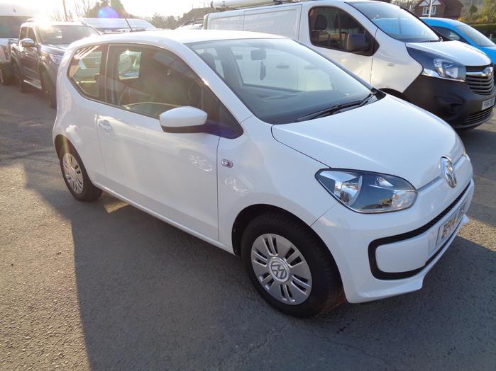 Volkswagen Move Up 1.0, 3 Door, White, 2014, 14 reg,